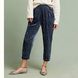 Anthropologie Ett:twa Velvet Trousers (M)